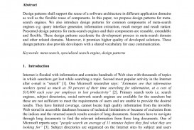 008 Meta Search Engine Research Paper Formidable