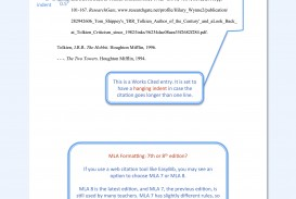 008 Model Mla Paper Citation Page For Wonderful Research How To Make A Works Cited About The Little Rock Nine