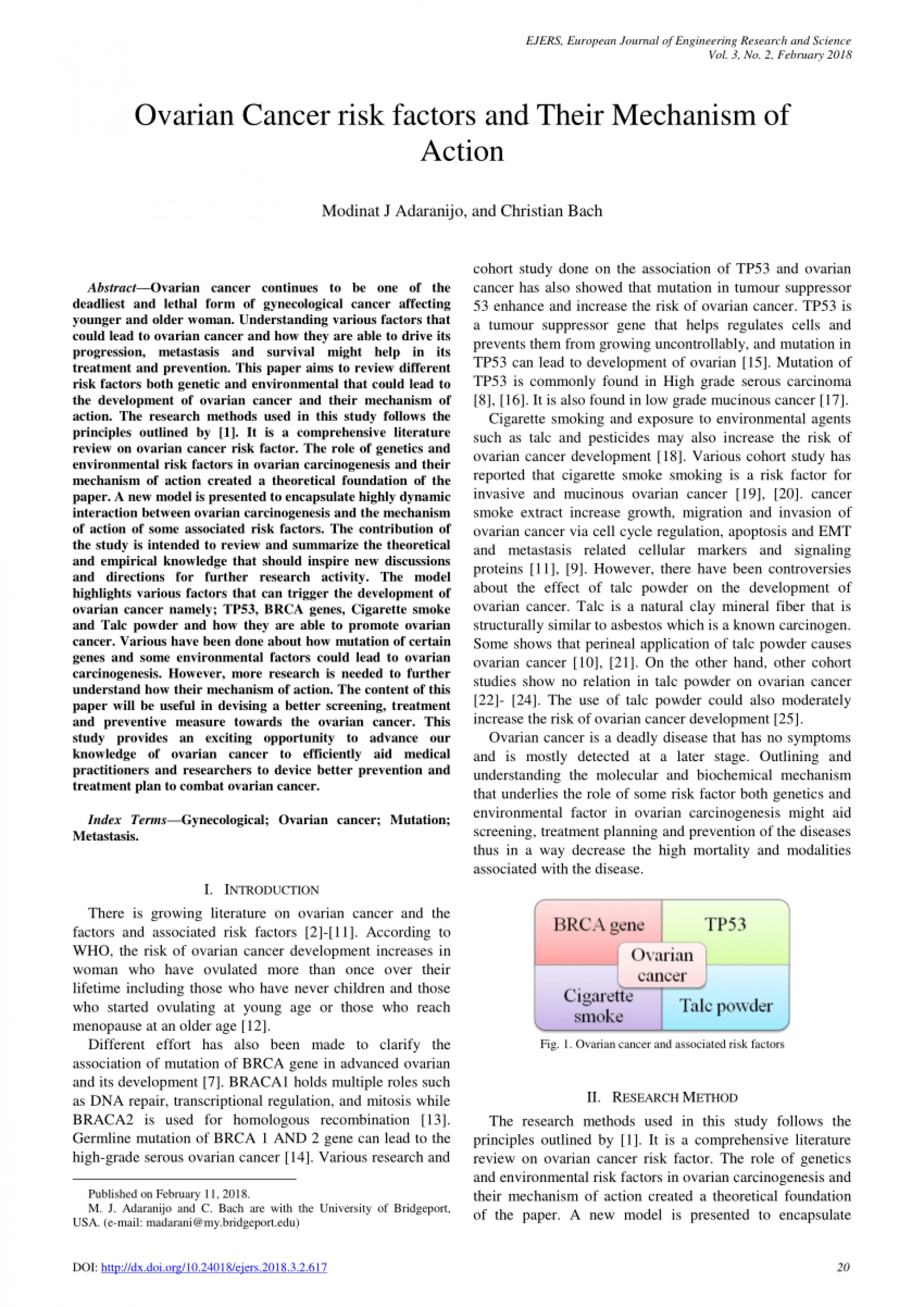 008 Ovarian Cancer Researchs Largepreview Archaicawful Research Papers Paper Topics Free 1920