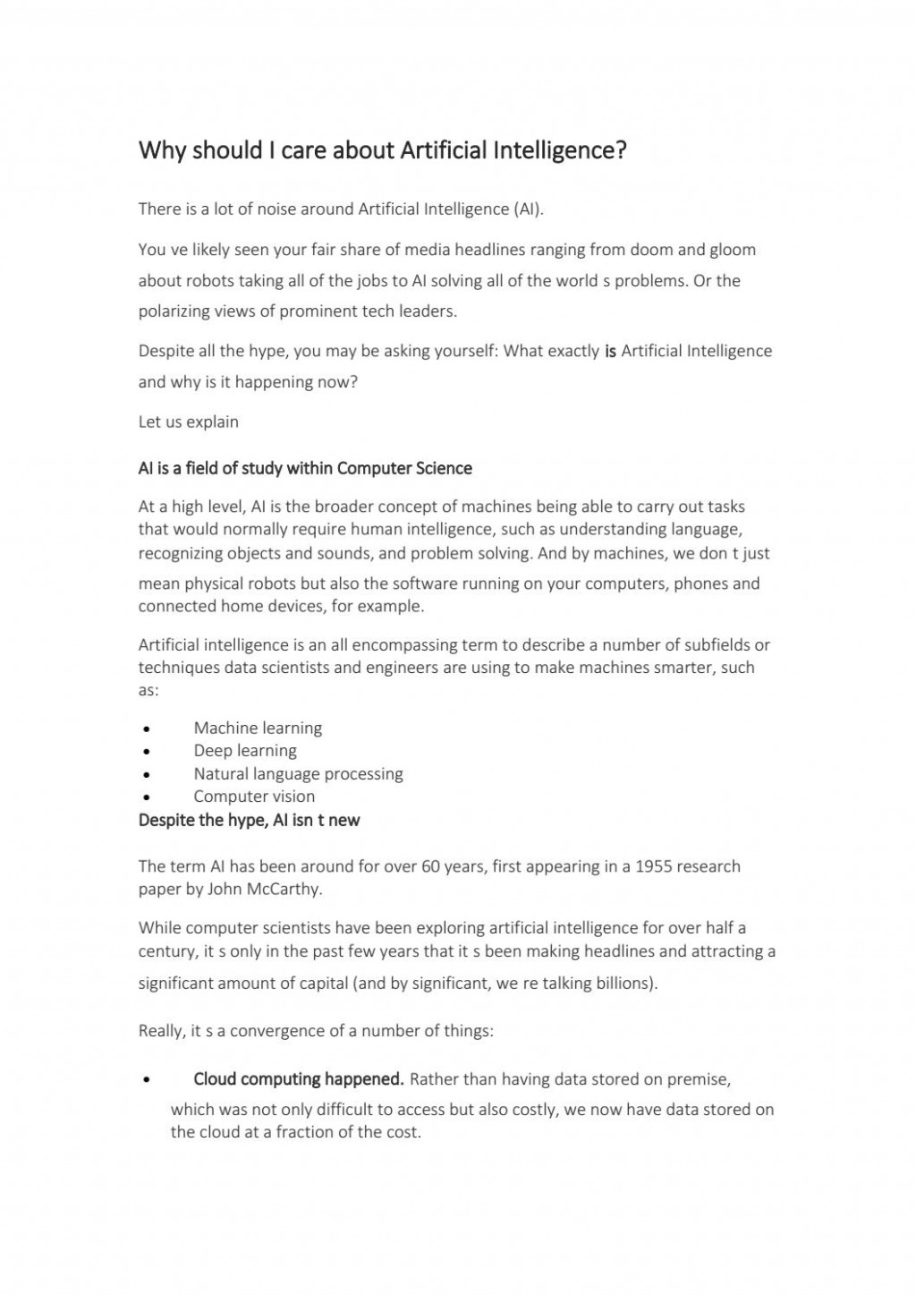 008 Page 1 Artificial Intelligence Research Paper Stirring Example Large