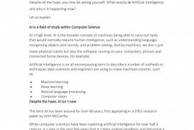 008 Page 1 Artificial Intelligence Research Paper Stirring Example