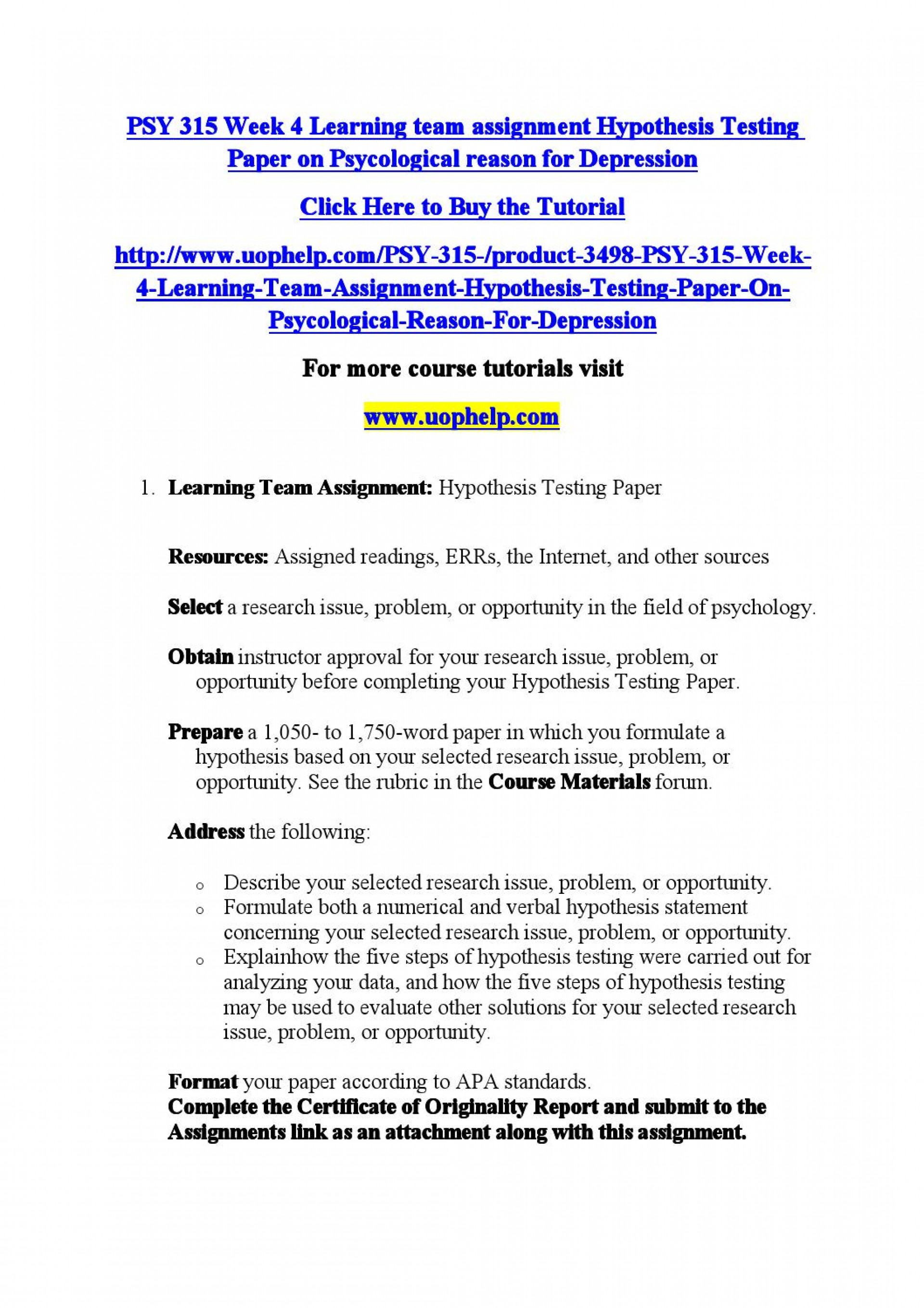 008 Page 1 Research Paper Hypothesis Testing Awesome In Pdf 1920