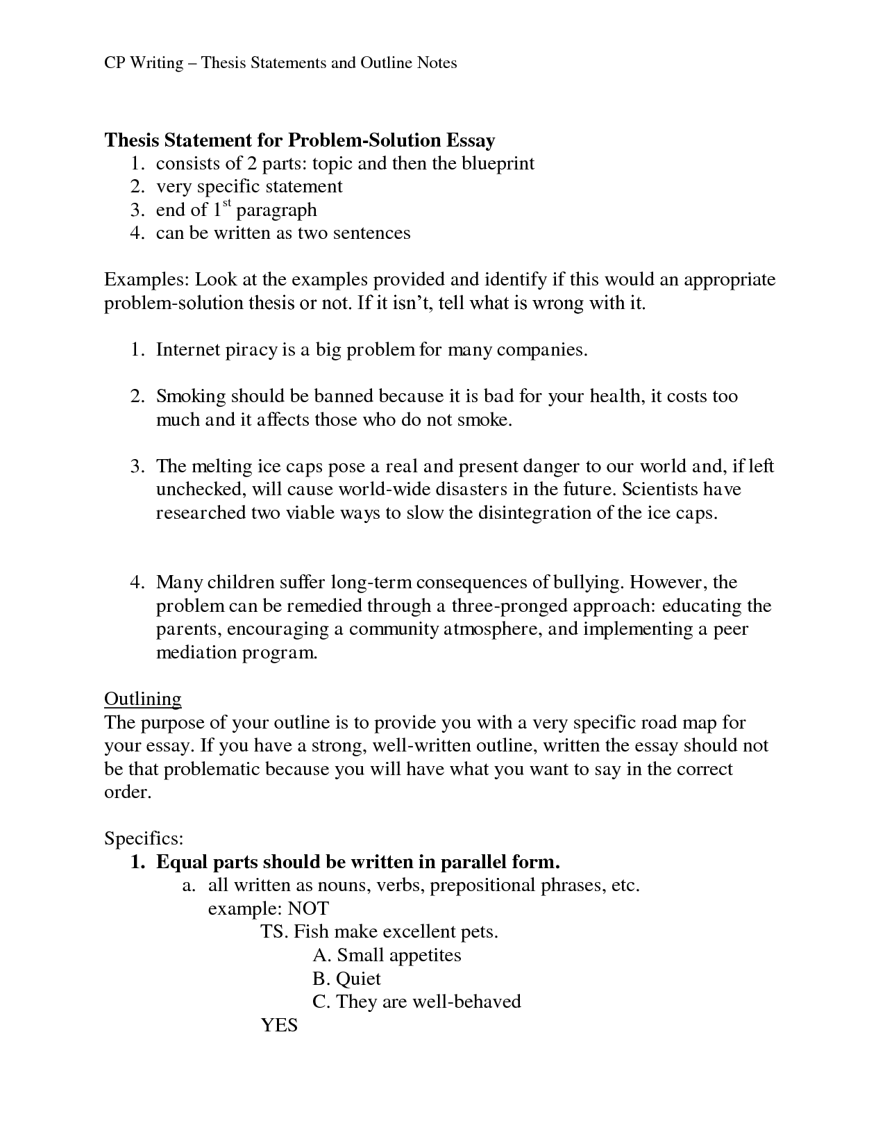 Tips for Writing Great Cancer Thesis Statements