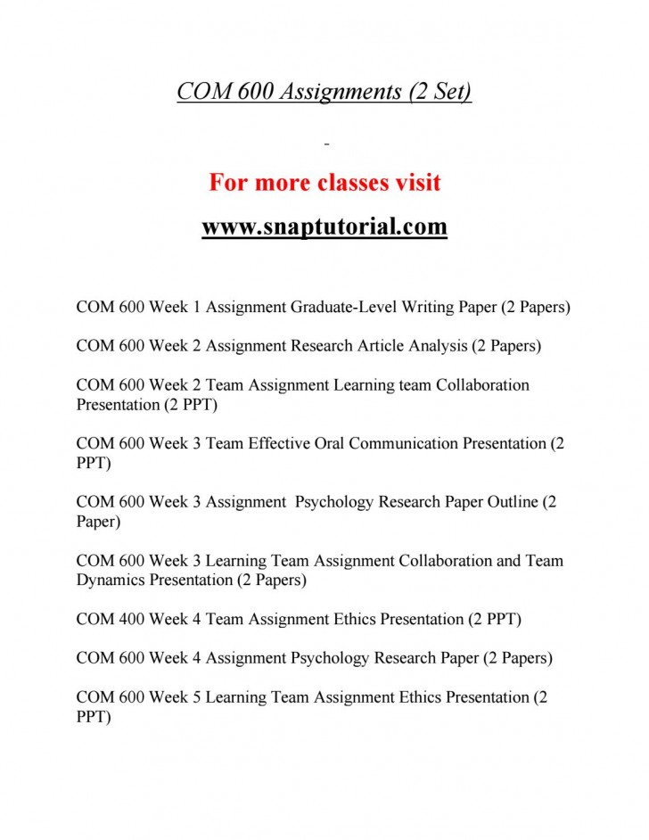 008 Psychology Research Paper Outline Com Page 1 Striking 600 Com/600 728