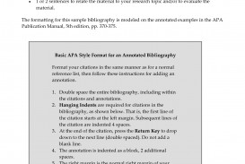 008 Research Paper Annotated Bibliography Vs Shocking Free Example Use An In A