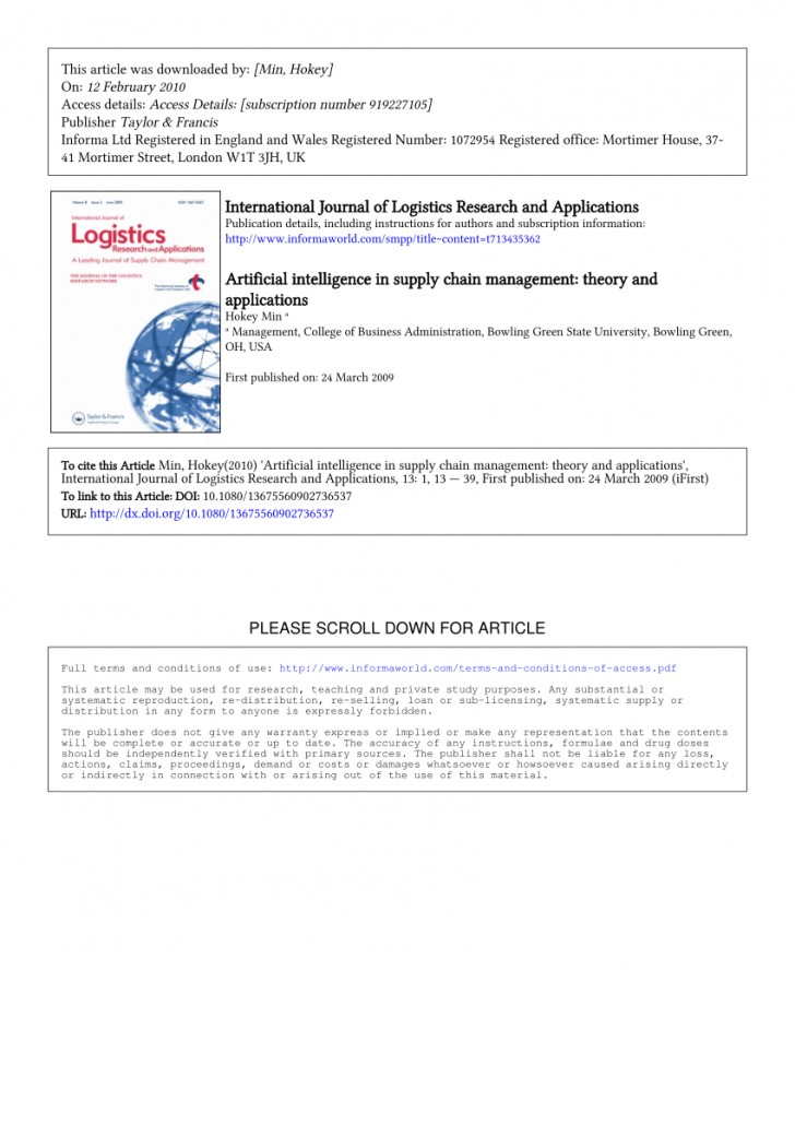 008 Research Paper Artificial Intelligence Papers Download Wonderful 728