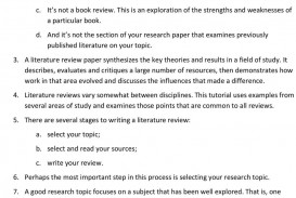 008 Research Paper Difference Between And Review Of Literature Page 1 Awesome