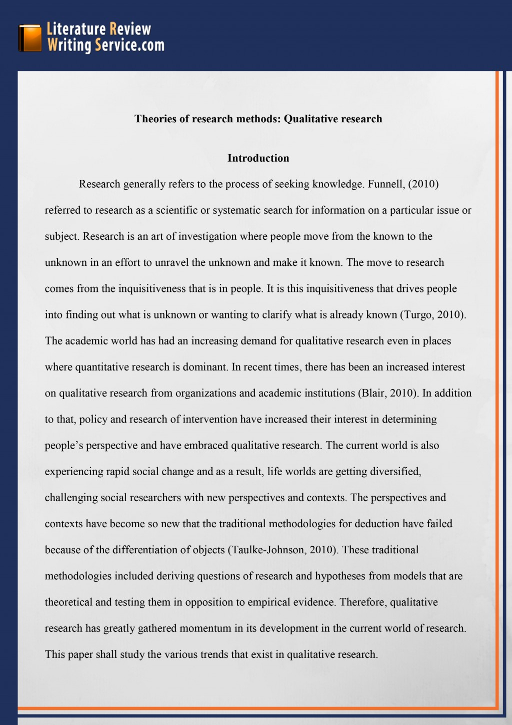 008 Research Paper Example Of An Outline For Literary Professional Dissertation Literature Review Striking A Large