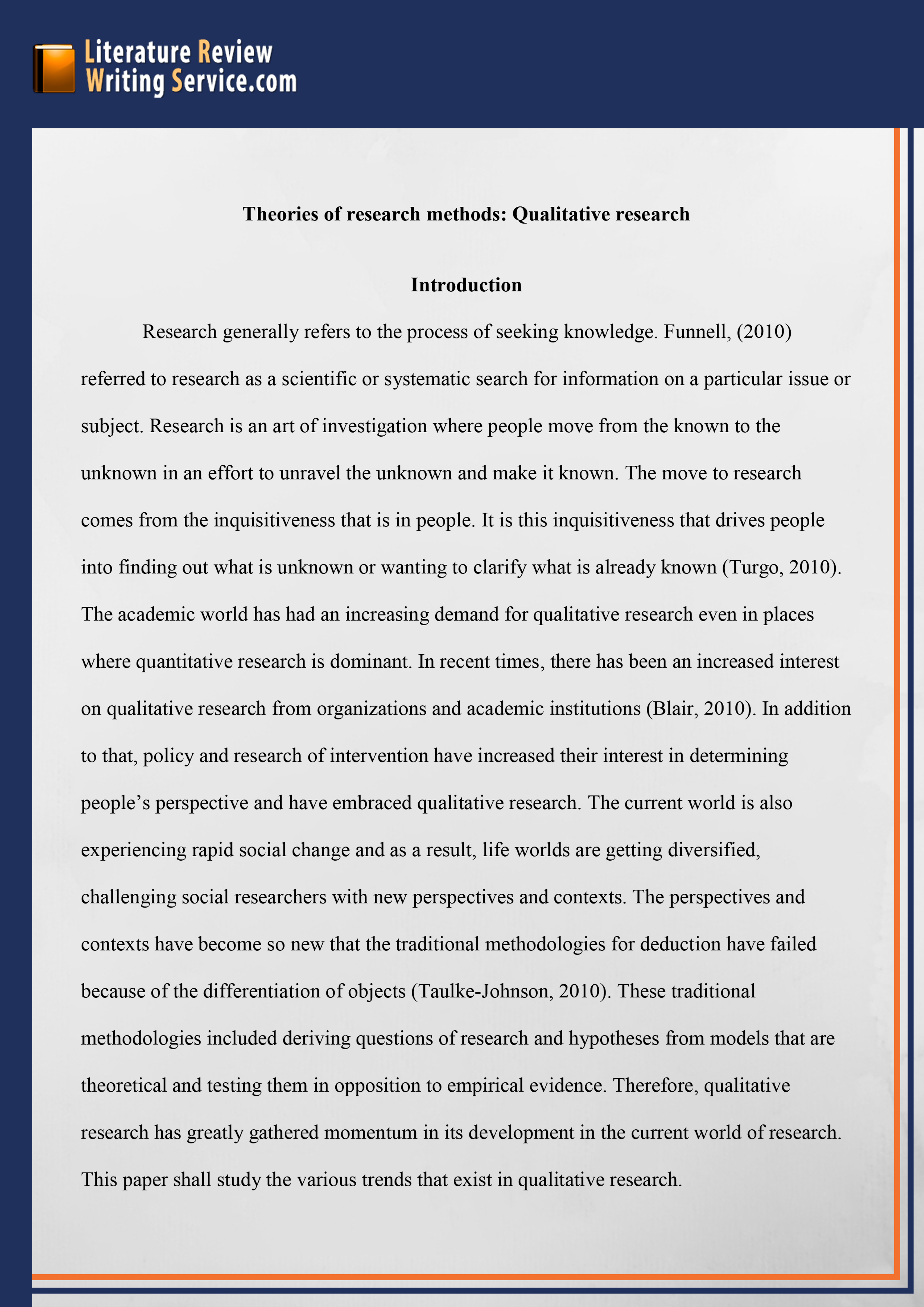 008 Research Paper Example Of An Outline For Literary Professional Dissertation Literature Review Striking A Full