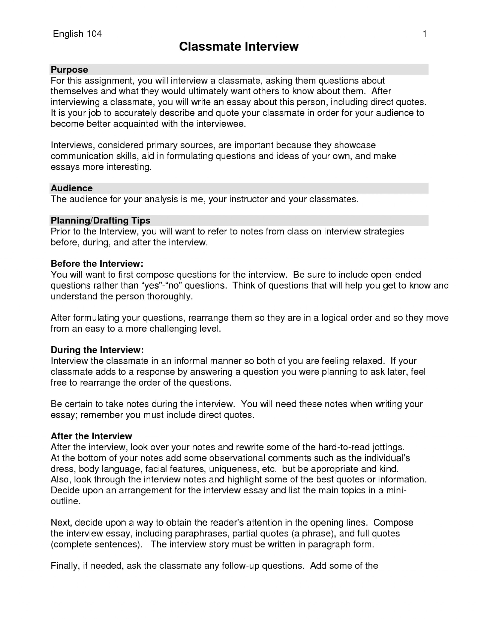 research paper ideas collection apa interview format example    research paper examples of interview questions for dreaded a