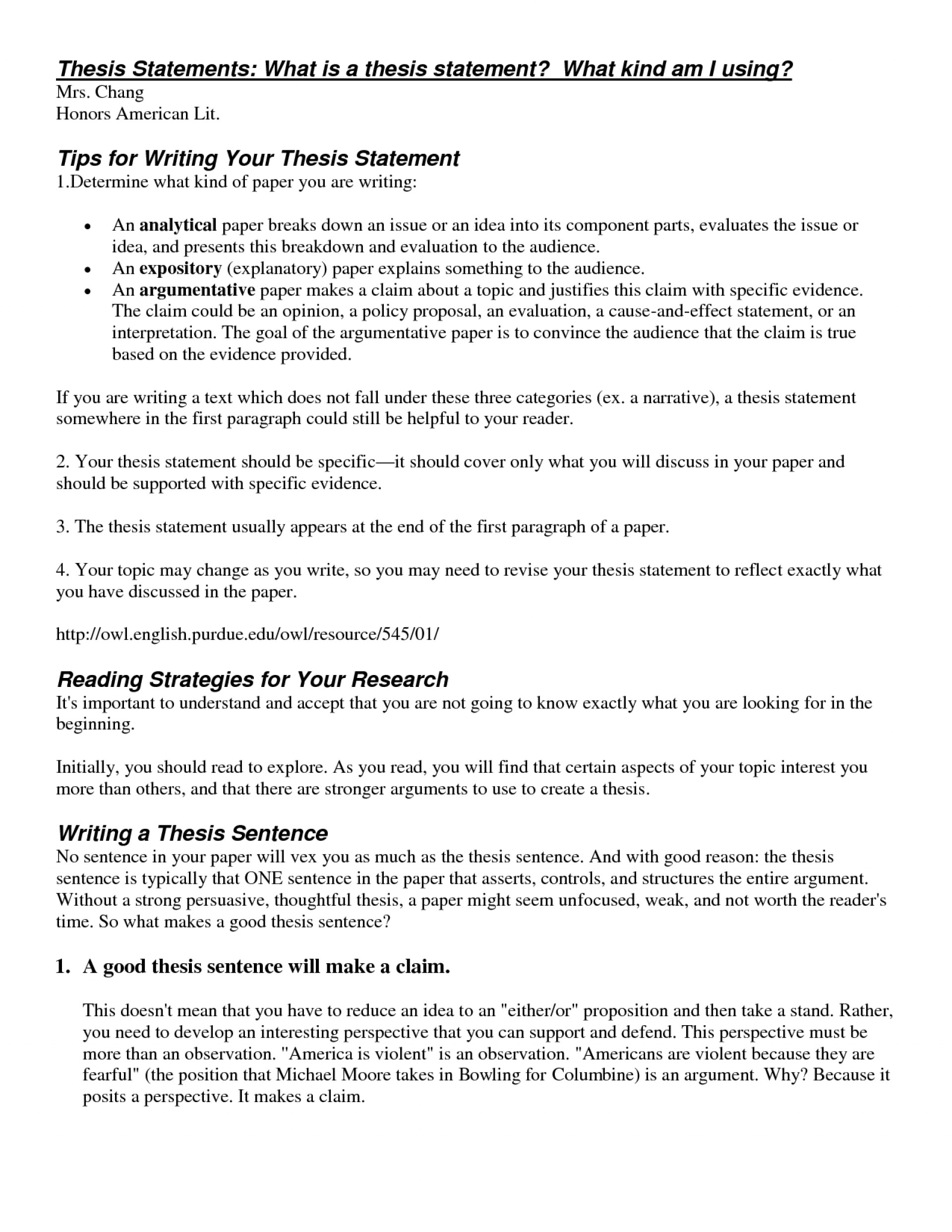 008 Research Paper Good Thesis Statement For Stirring Psychology Examples 1920