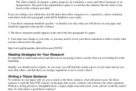 008 Research Paper Good Thesis Statement For Stirring Psychology Examples