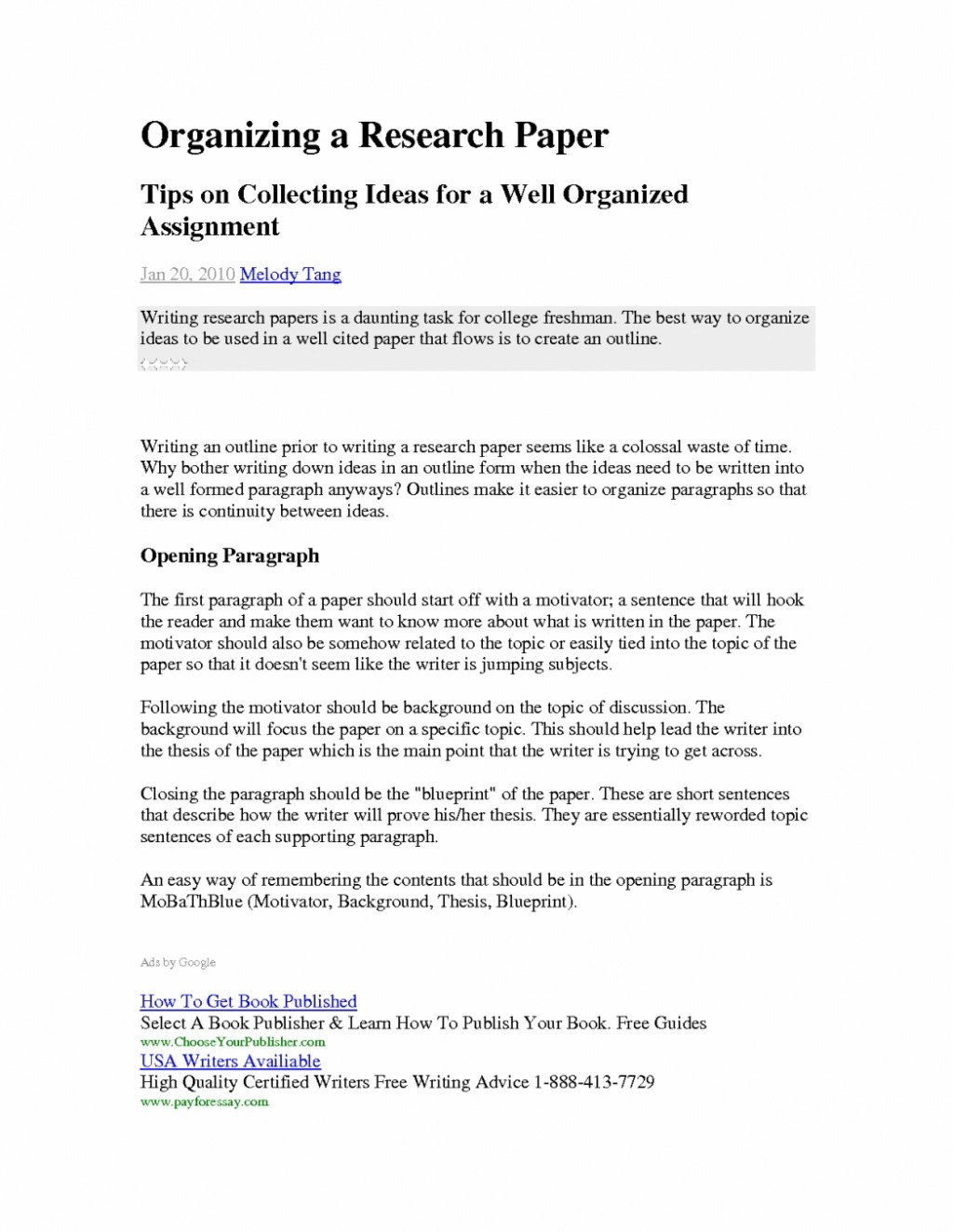 008 Research Paper How To Start Paragraph Conclusion Of Thesis Essay Beautiful Starting Pertaining Examples For Papers Stirring A New In Your Introduction On An Opening Large