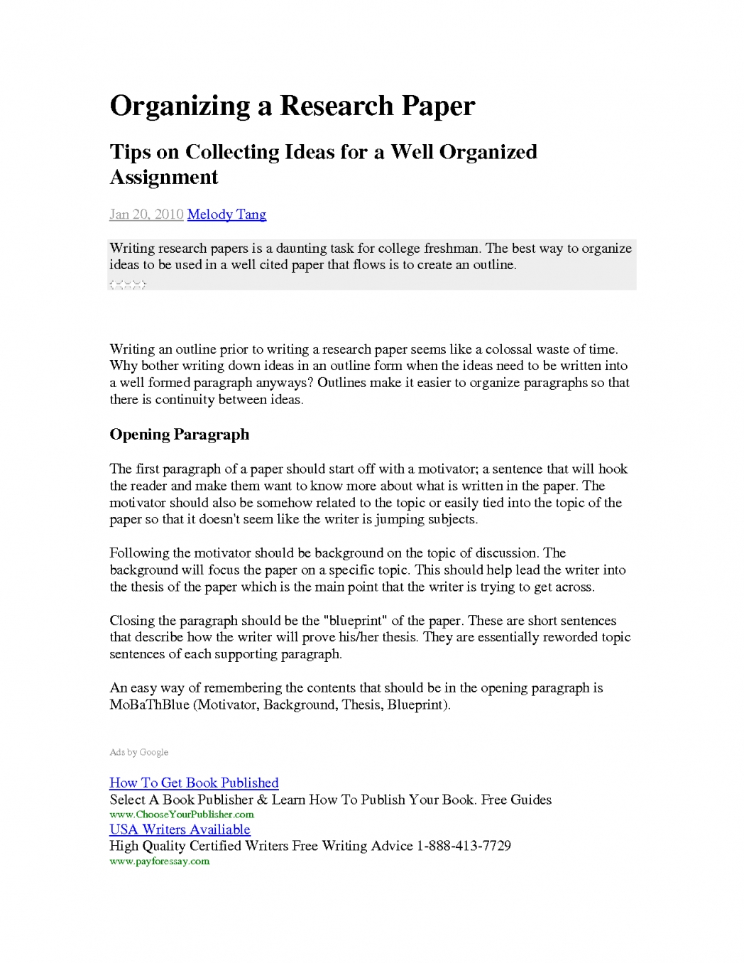 008 Research Paper How To Start Paragraph Conclusion Of Thesis Essay Beautiful Starting Pertaining Examples For Papers Stirring A New In Your Introduction On An Opening Full