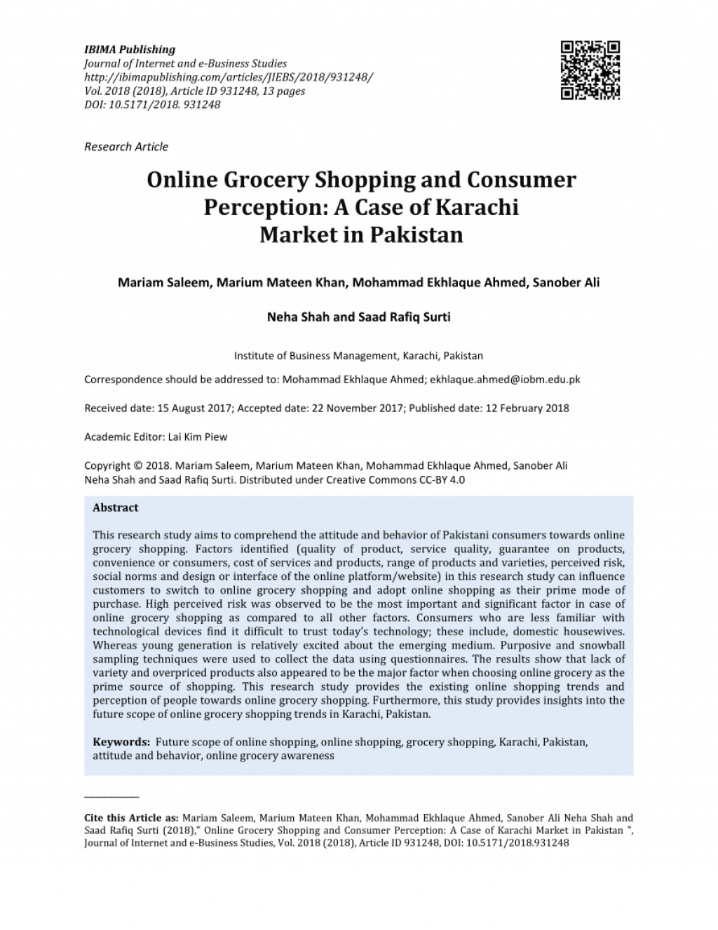 008 Research Paper Largepreview Online Shopping In Pakistan Unforgettable Papers Large