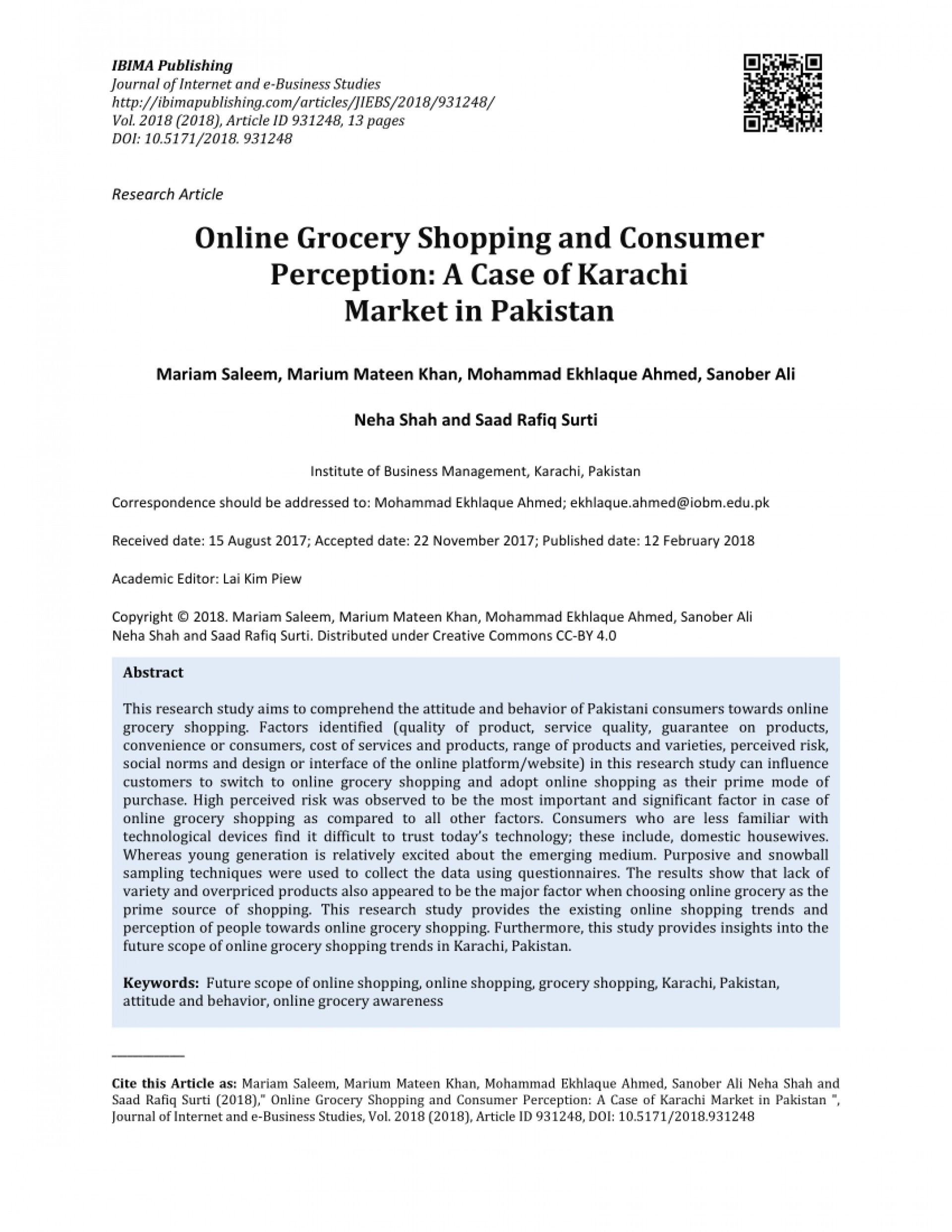 008 Research Paper Largepreview Online Shopping In Pakistan Unforgettable Papers 1920