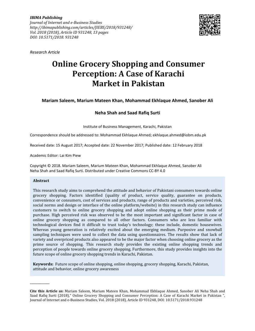 008 Research Paper Largepreview Online Shopping In Pakistan Unforgettable Papers Full