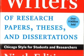 008 Research Paper Manual For Writers Of Papers Theses And Sensational A Dissertations Ed. 8 Turabian Ninth Edition
