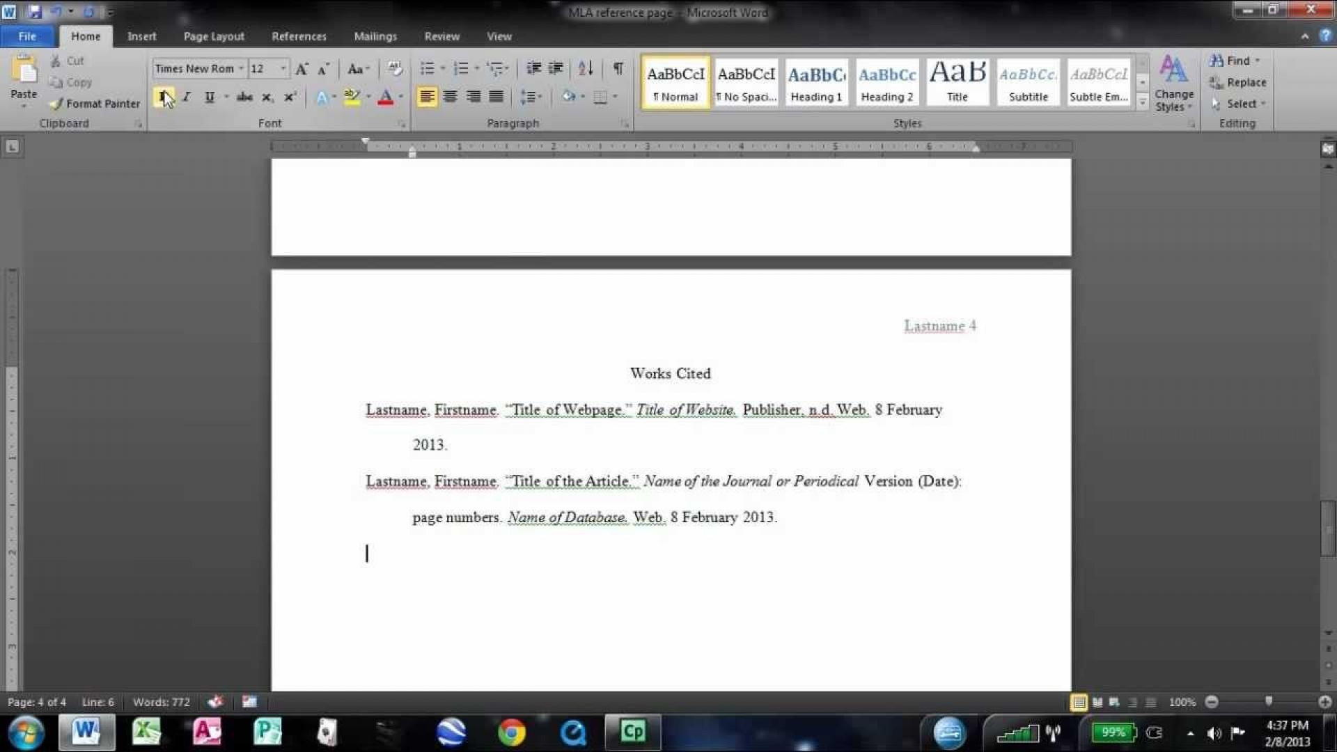 008 Research Paper Maxresdefault How To Do Mla Works Cited Unusual For A Page 1920