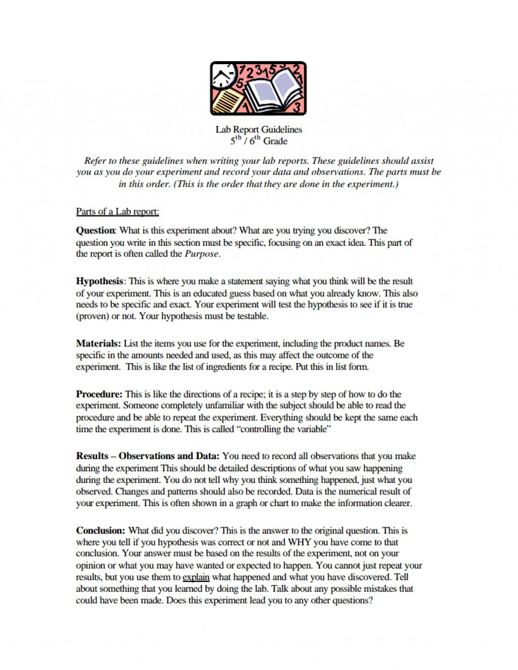 008 Research Paper Middle School Science Fair Template Frightening Large