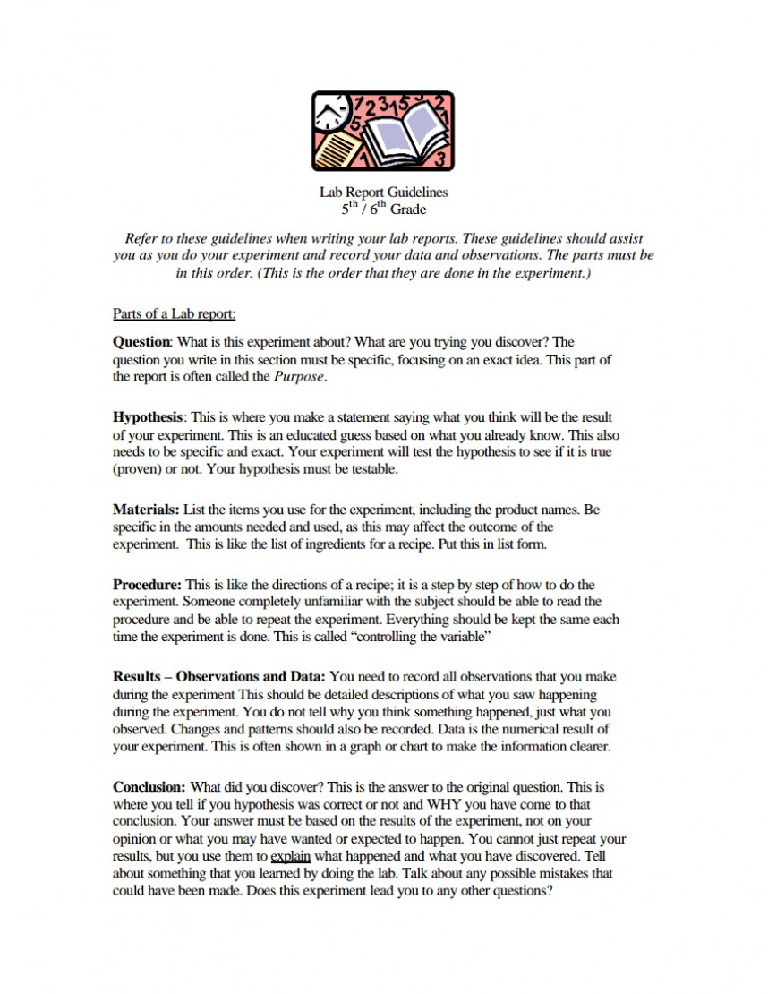 008 Research Paper Middle School Science Fair Template Frightening