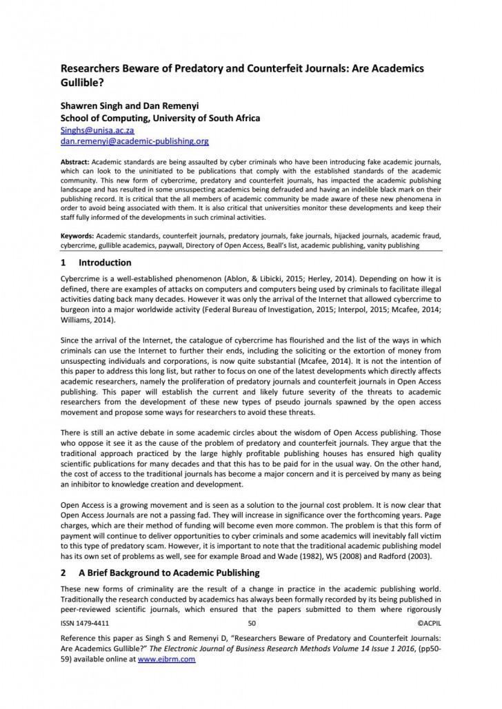 008 Research Paper Page 1 Define Shocking Academic 728