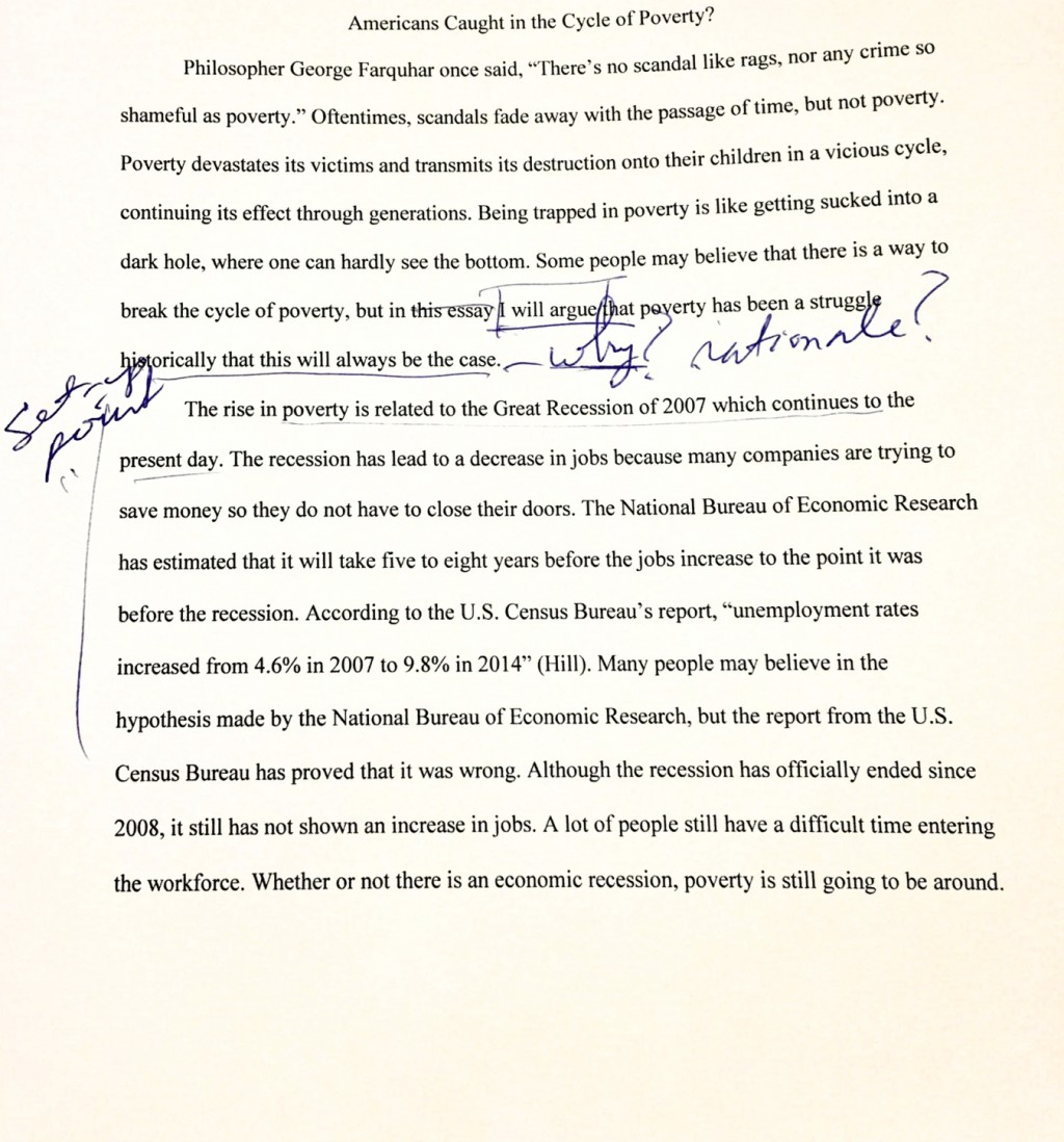008 Research Paper Poverty Outline Amazing In America Large