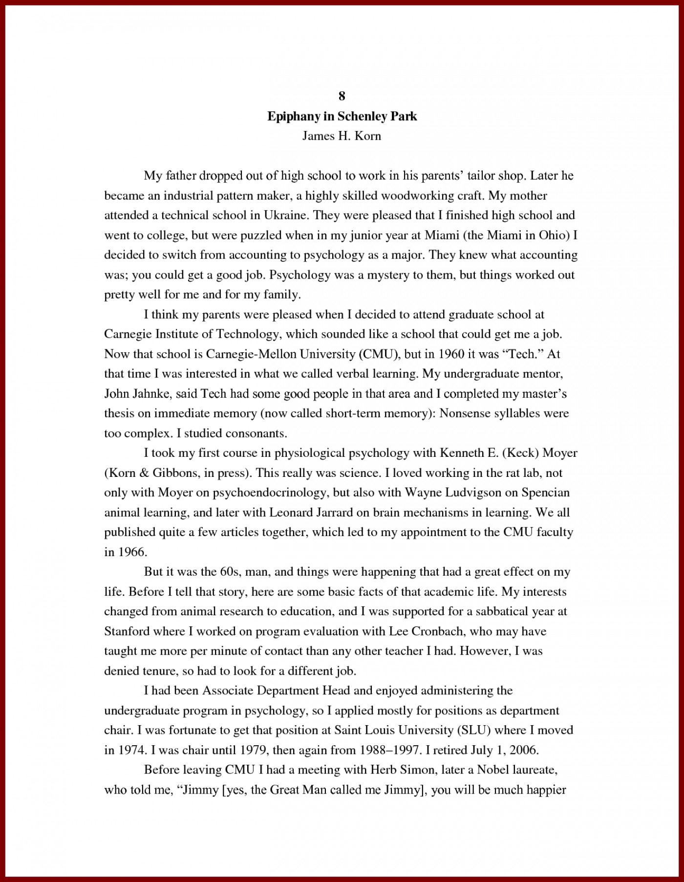 Essay On Me  Compare Contrast Essay Titles also Essay Myself  College Research Paper Example Essays Sample Essay  Essays On Current Events