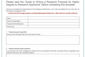 008 Research Proposal Template Paper Exceptional Example
