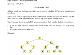 008 V123 Thumbnail Binary Search Tree Researchs Formidable Research Papers