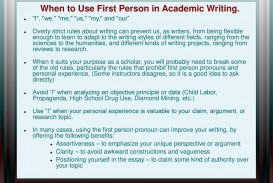 008 Whentousefirstpersoninacademicwriting Are Researchs Written In First Person Impressive Research Papers Proposals The Paper Is Voice