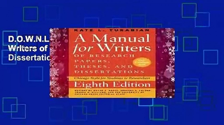 008 X1080 Whm Research Paper Manual For Writers Of Papers Theses And Dissertations Pdf Impressive A Download