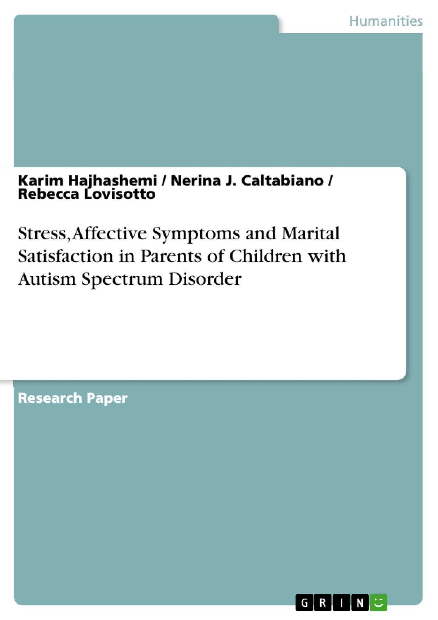 009 313796 0 Autism Spectrum Disorder Researchs Awesome Research Papers Paper Topics Full