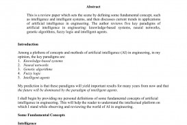 009 Artificial Intelligence Research Paper Pdf Impressive Ieee Papers On 2018
