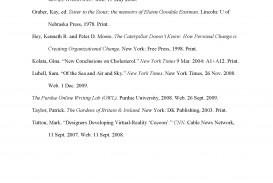 009 Cite Research Paper Online Sample Works Cited Page Impressive