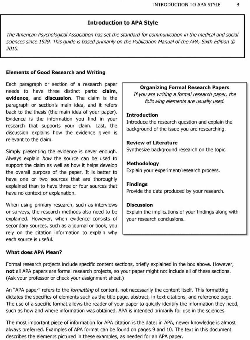 009 Components Of Research Paper Apa Template Fascinating A In Format 868