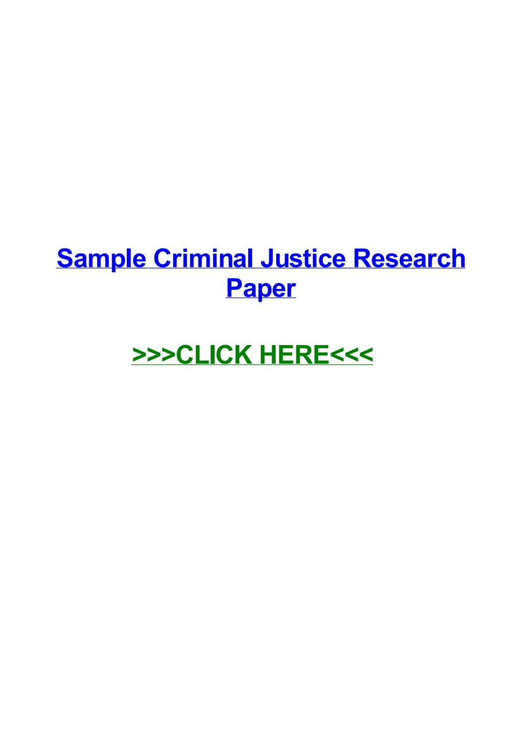 009 Criminal Justice Researchs Free Page 1 Unforgettable Research Papers Large