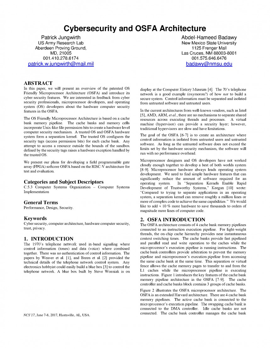 009 Cyber Security Research Papers Paper Sensational 2017 Pdf