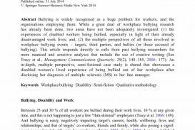 009 Cyberbullying Research Paper Pdf Narrative Essay Bullying Buy Original Conclusion To L Unique Effects Of