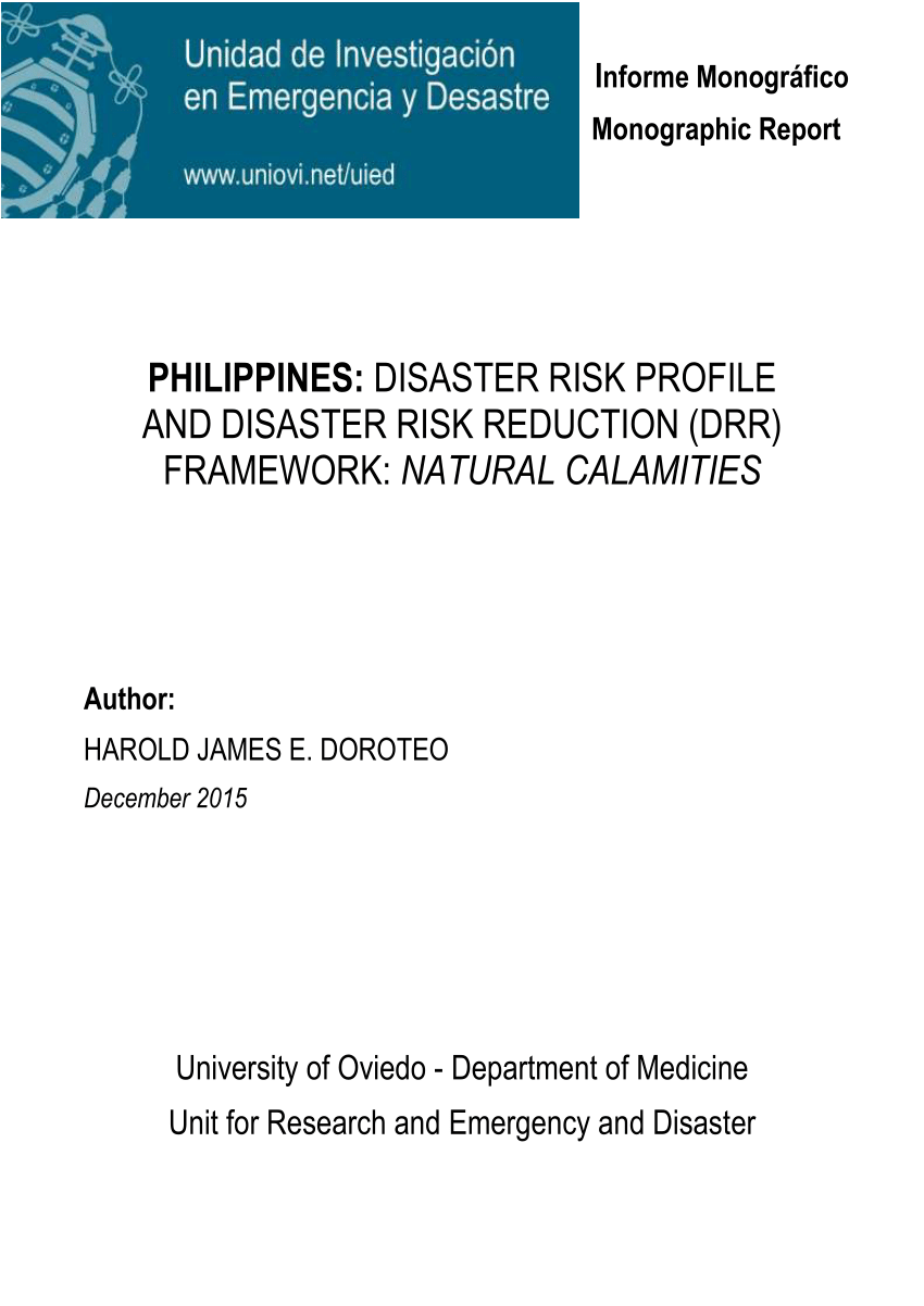 009 Earthquake Research Paper Pdf Philippines Wondrous Full