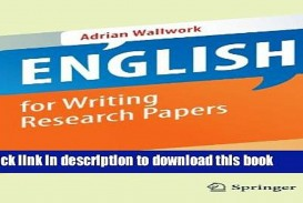 009 English For Writing Research Papers Springer Paper X1080  X4 Awesome Pdf Useful Phrases -