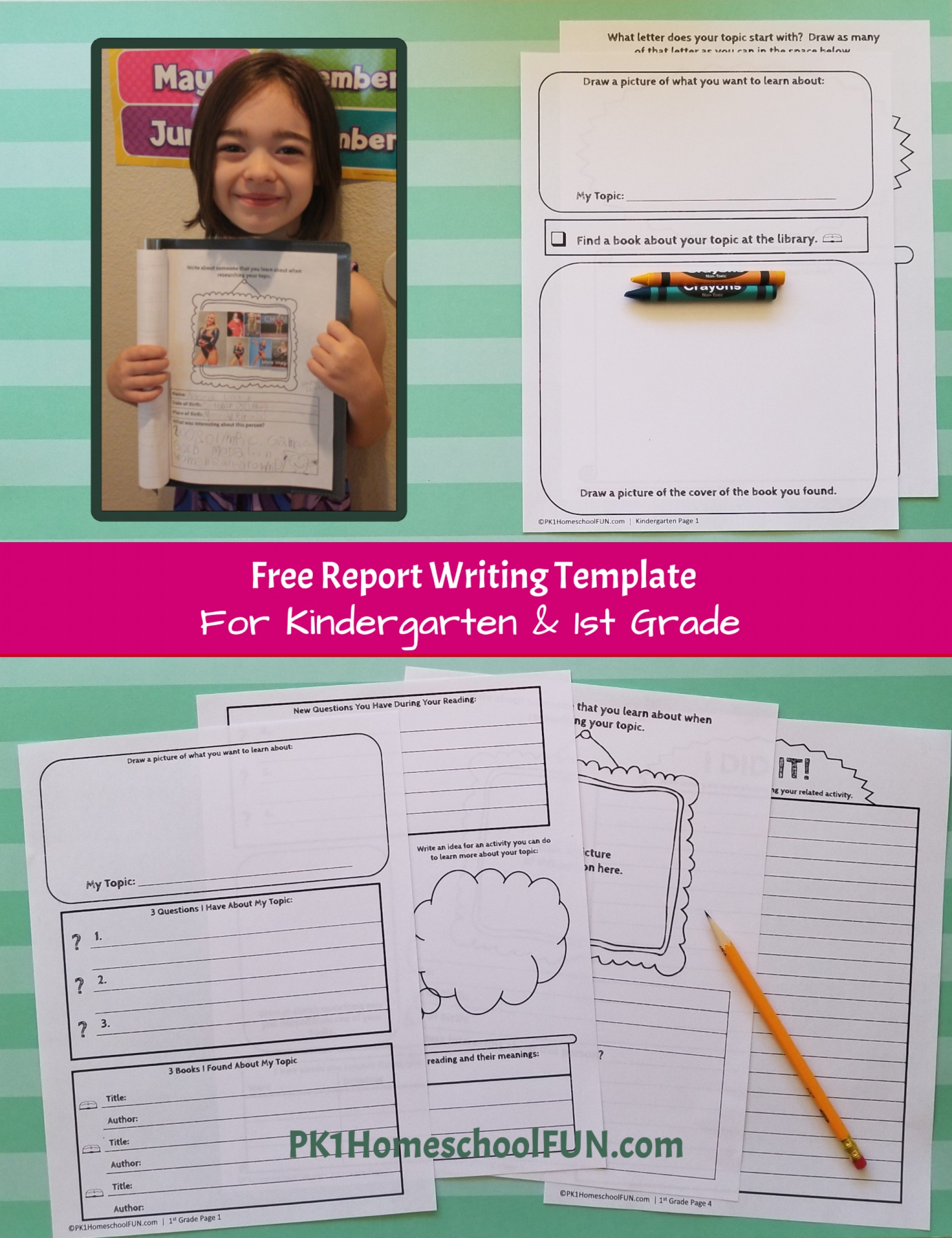 009 Free 1st Grade Writing Prompts Research Paper Template Help Me With My Stirring For 1920
