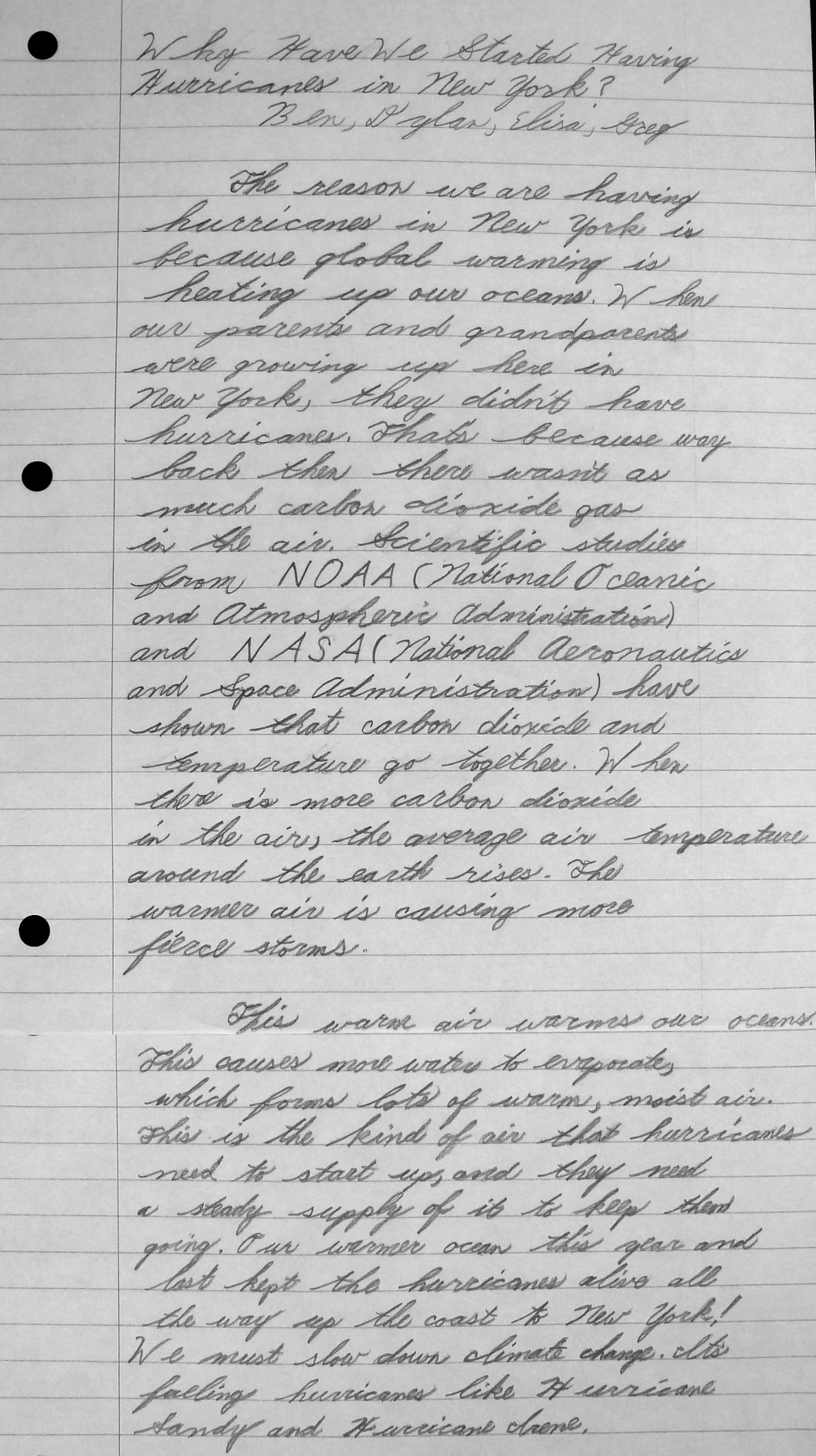 009 Global Warming Research Paper Conclusion Whyhurricanes Full Outstanding 1920