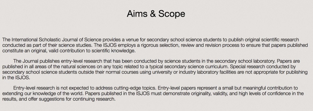 009 How To Publish Research Paper In High School Screen Shot Aims Scope Unusual A Large