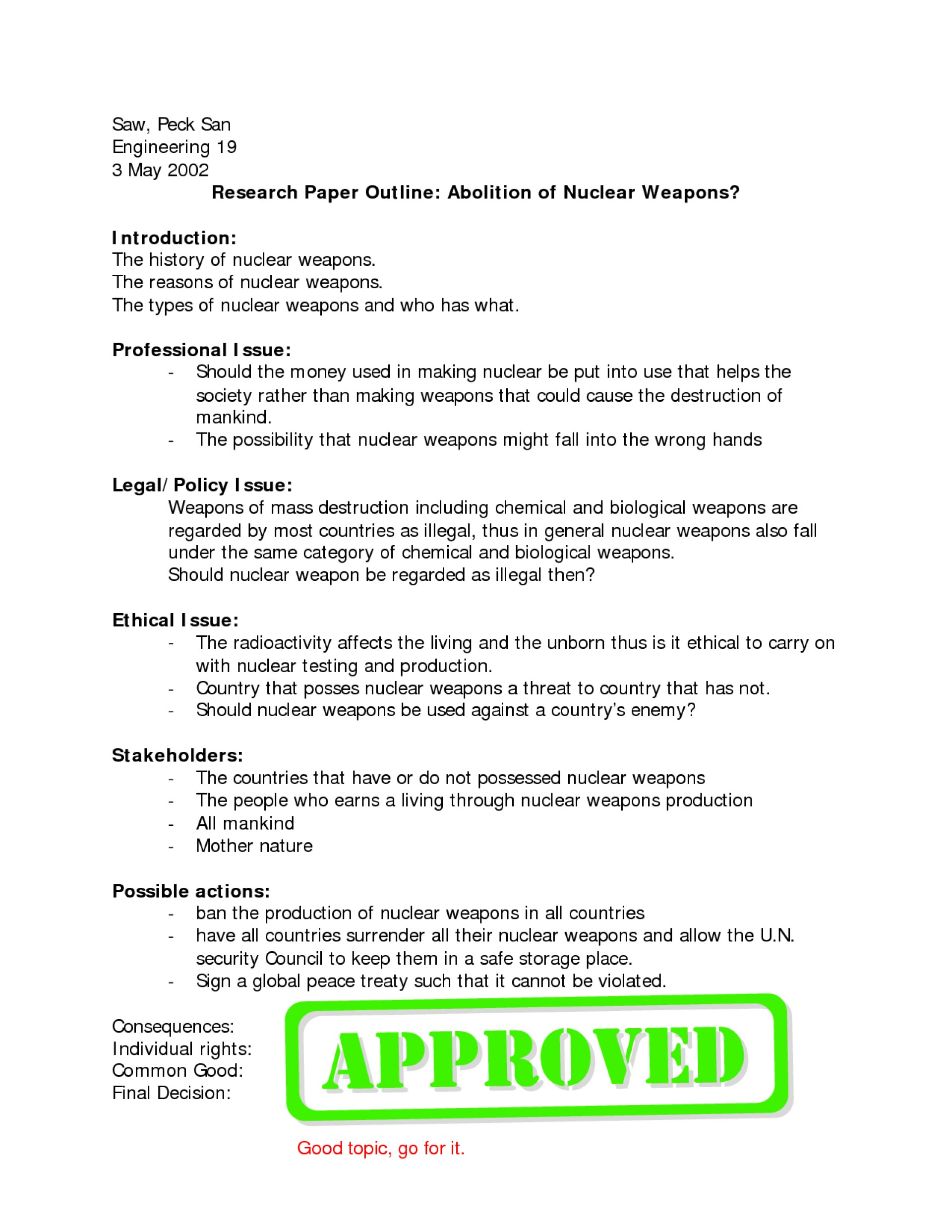 009 How Write Research Paper Outline Online Writing Lab History Term Art Essay Example L Outstanding To An For A Mla Ppt College 1920