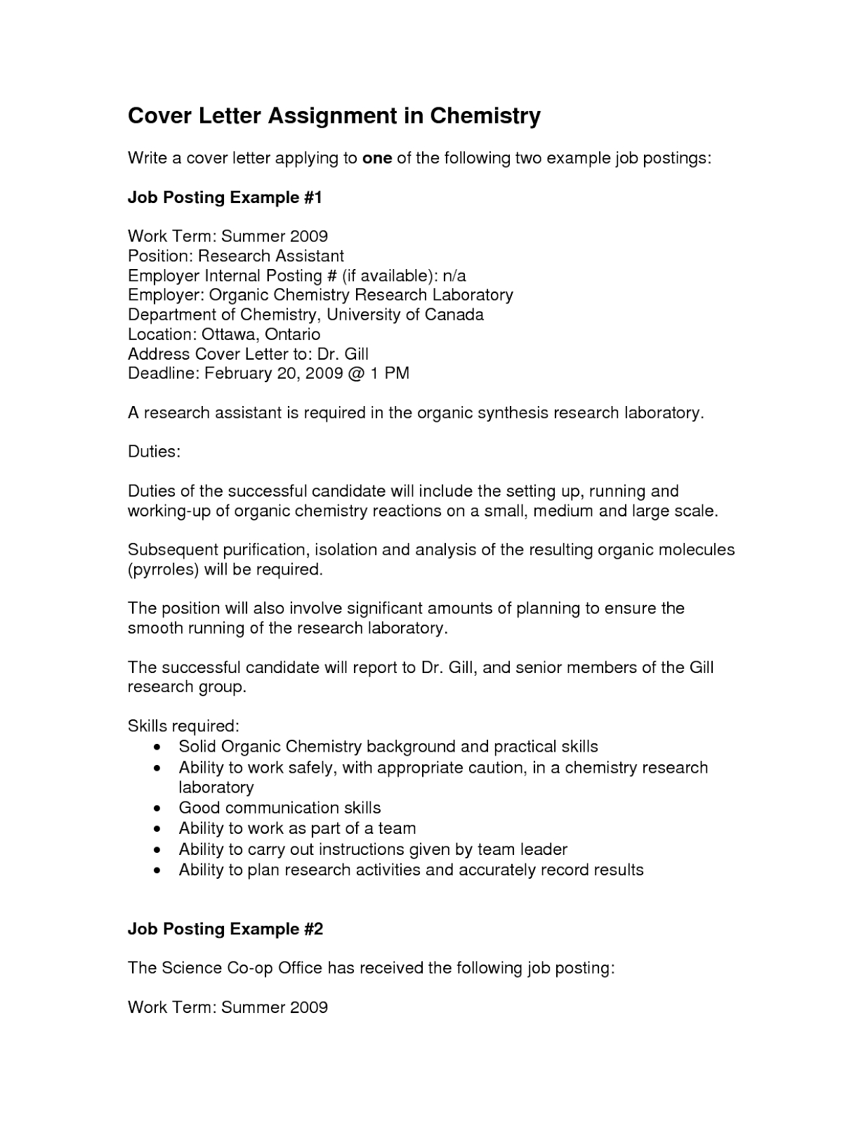 Internal Applicant Cover Letter from www.museumlegs.com