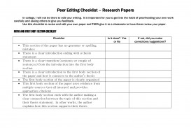 009 Ideas Of Research Paper Peer Edit Sheet Excellent Editing Worksheet Best Checklist Writing Services In Pakistan Free