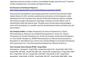 009 Latest Research On Post Traumatic Stress Disorder Page 1 Magnificent Information Paper Topics