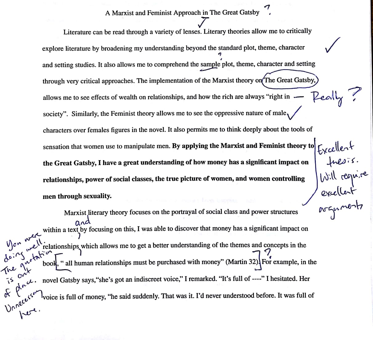 009 Level2b32bsample 1 Research Paper Remarkable Literary Analysis Assignment Mla Example Proposal Full
