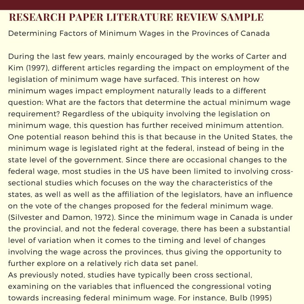 009 Literature Review Research Paper Singular Vs Or A Pdf Large
